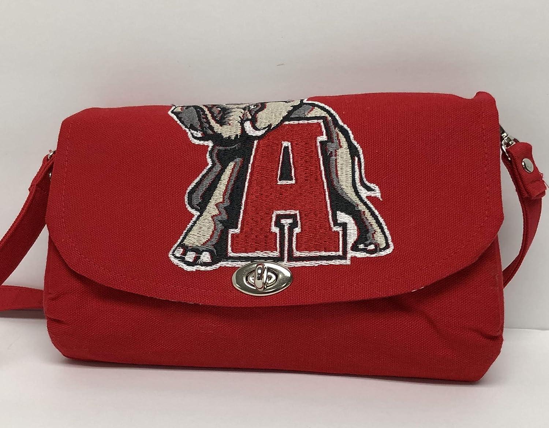 Alabama Bama Crimson Tide Clutch Purse Handbag