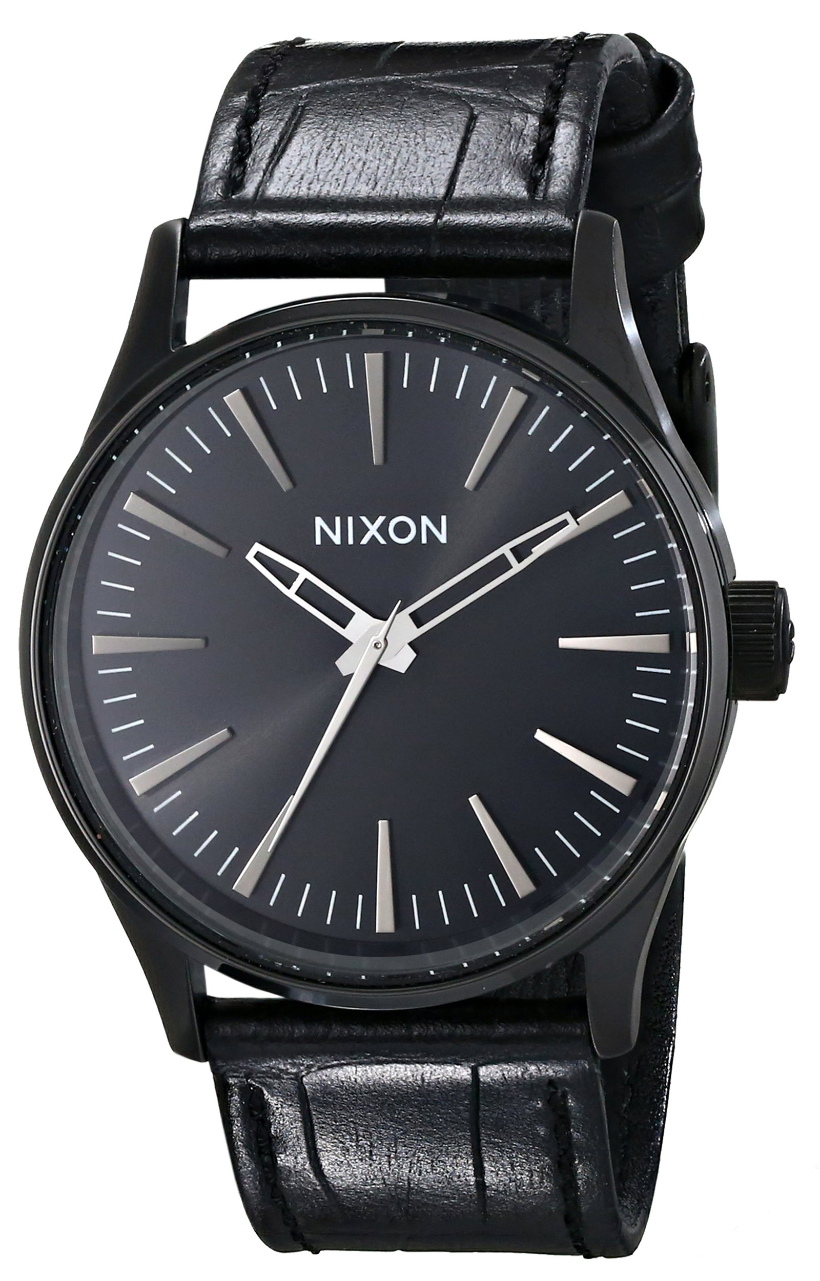 Nixon Men's A3771886 Sentry 38 Leather Watch