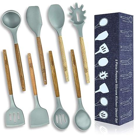 Amazon.com: Dealzfrenzy - Juego de utensilios de cocina (8 ...