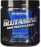 Dymatize 100% Pure Pharmaceutical Grade Glutamine, Unflavored, 10.6 Ounces