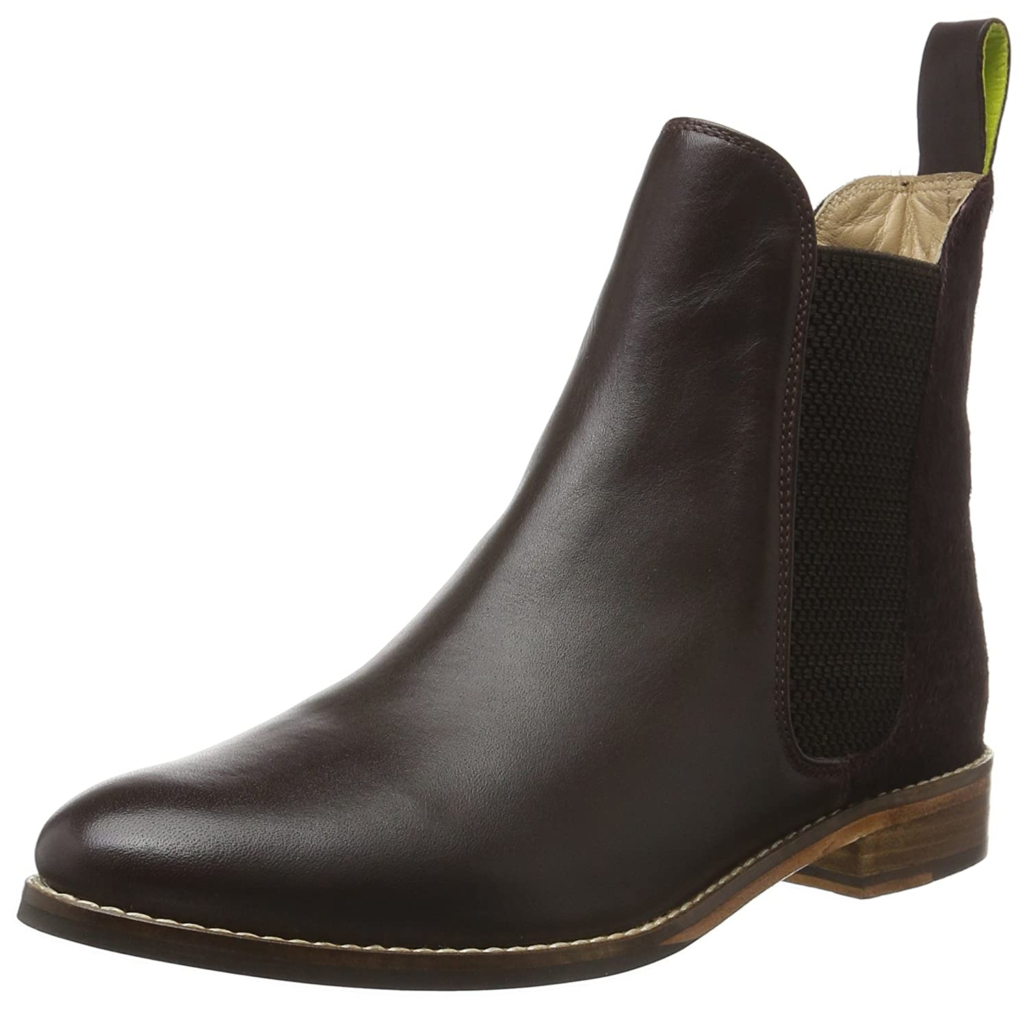 Joules Women's Westbourne Leather Chelsea Boots B01EZ5M6TI 7 B(M) US|Oxblood