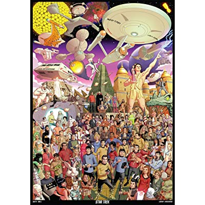 Buffalo Games - Star Trek - The Original Series - 500 Piece Jigsaw Puzzle: Toys & Games