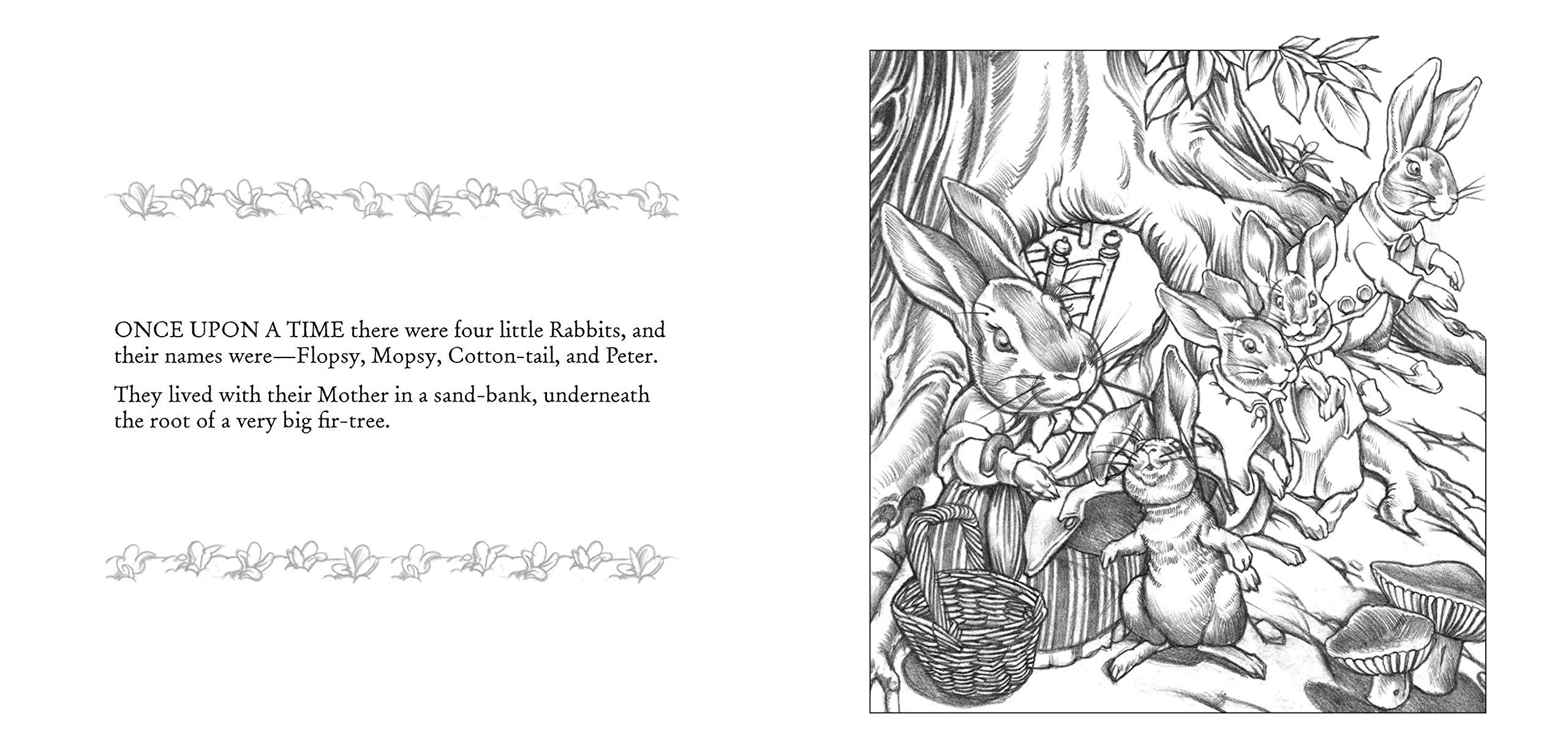 Charles Santore: Illustrations from Classic Tales Coloring Book | 1222x2560