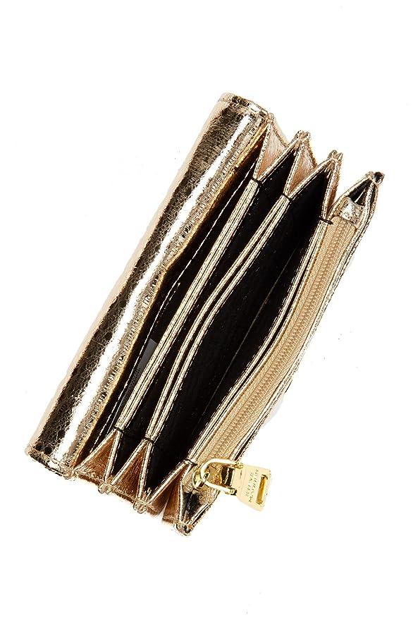 Amazon.com: steve madden oro metálico acordeón francés ...