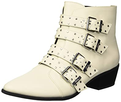 7f50dfac65f36 Circus by Sam Edelman Womens Hutton Pointed Toe Ankle Fashion, Beige, Size  5.5