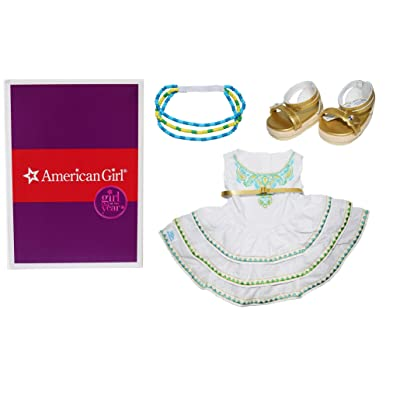 "American Girl Lea's Celebration Outfit for 18"" Dolls: Toys & Games"