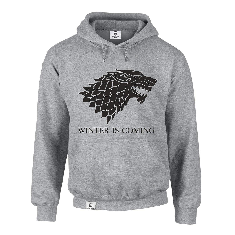 lobo Sudadera Game of Thrones Winter is coming Sudadera con capucha sombra
