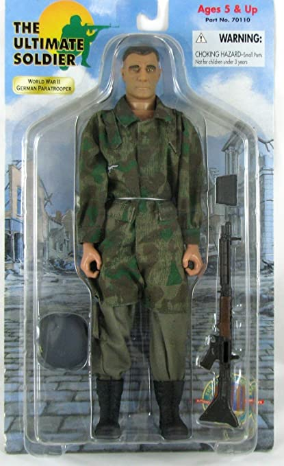 The Ultimate Soldier World War II German Paratrooper Action Figure 1:6 Scale