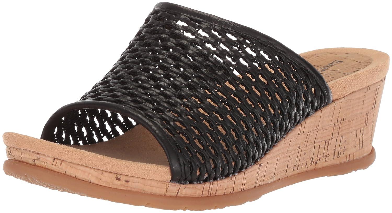 BareTraps Women's Flossey Slide Sandal B075XY3Q86 6 B(M) US|Black
