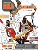 NBA All Stars 2018-2019: The Ultimate Basketball Coloring and Activity Book for Adults and Kids: Volume 5 (All Star Sports Coloring)