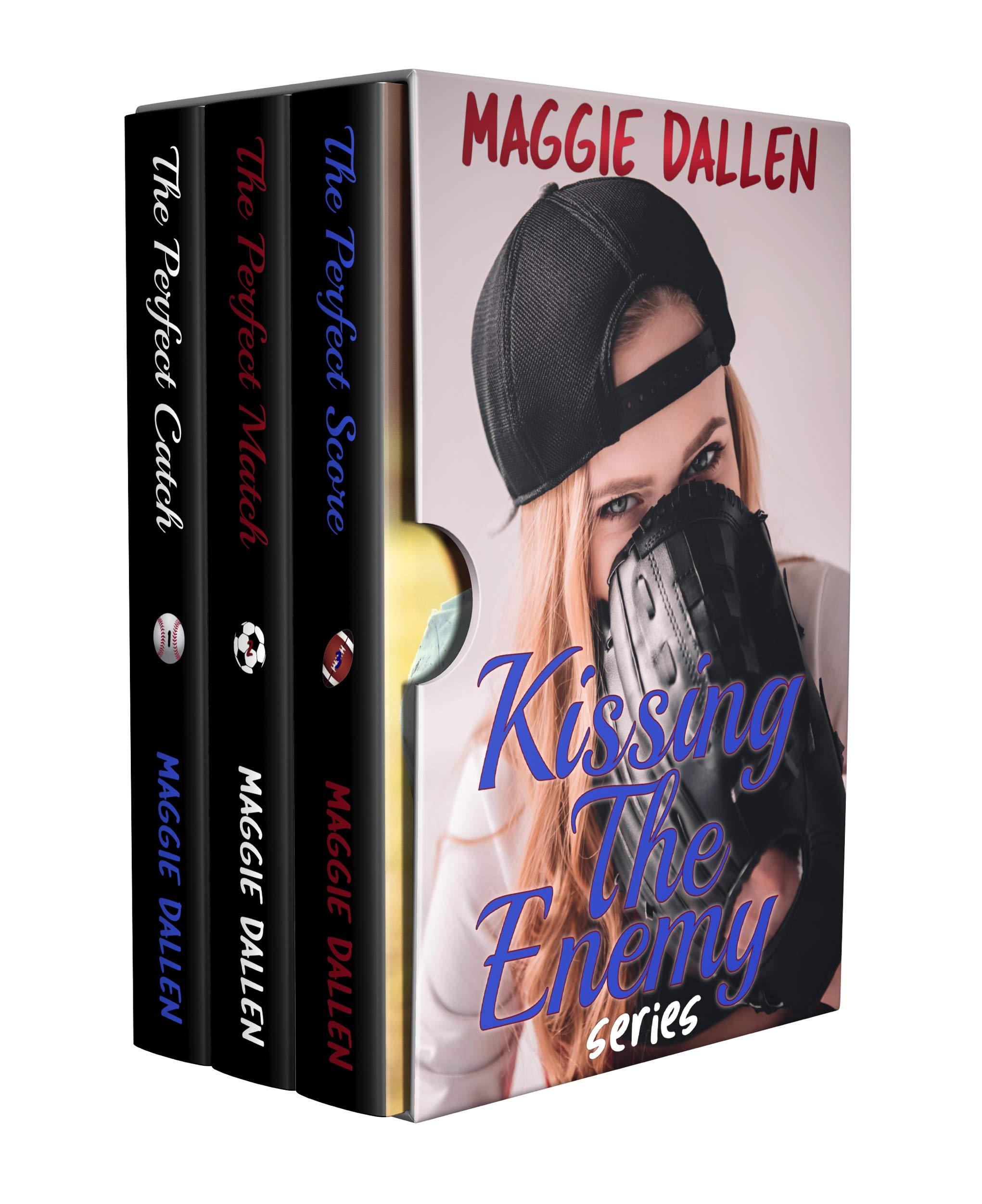 Kissing the Enemy Series Box Set (Books 1-3) (English Edition)