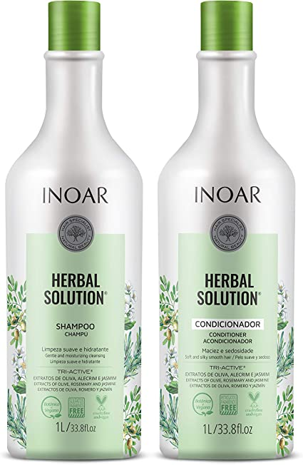 Inoar Herbal Solution Kit Shampoo e Condicionador