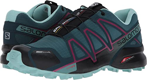 SALOMON Damen Speedcross 4 Cs W Traillaufschuhe, Blau mPm0R