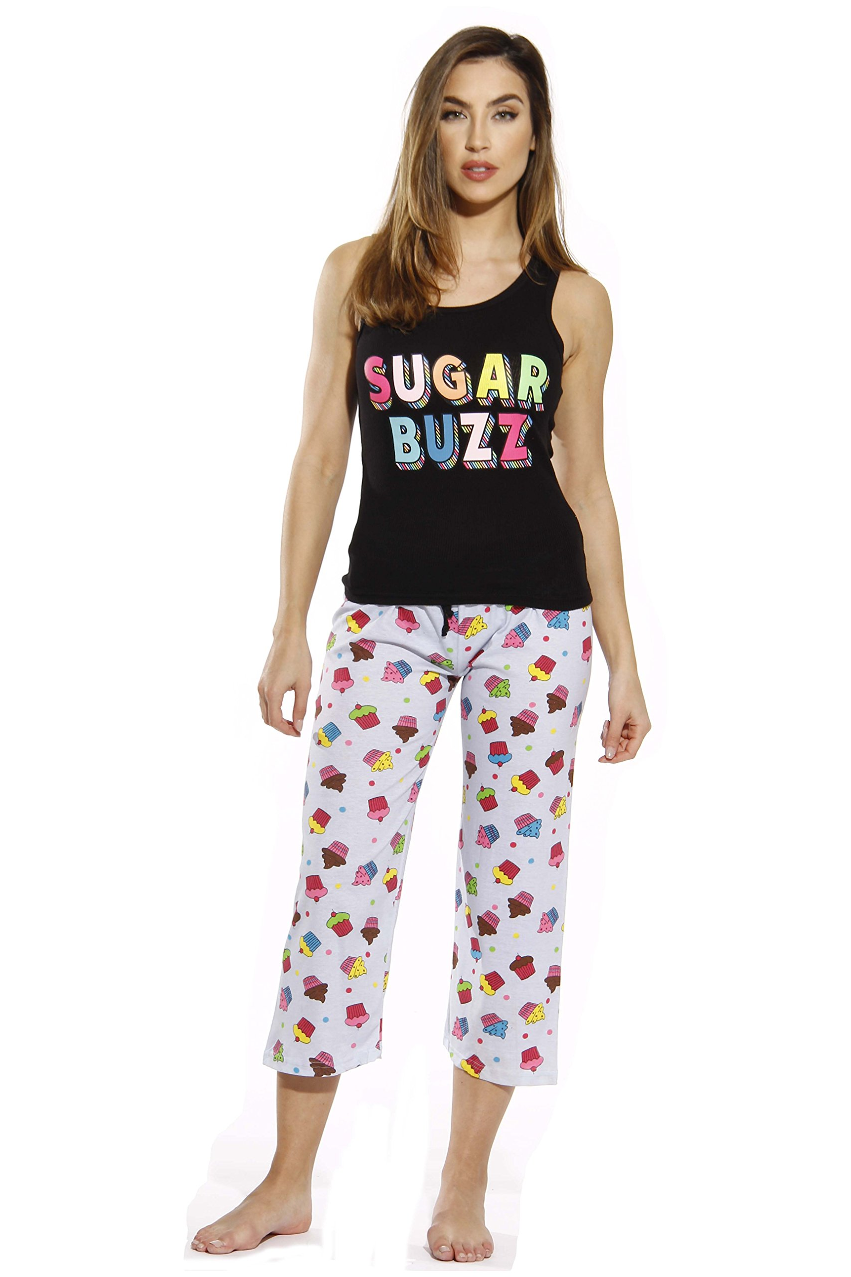 Just Love 6329-10008-XL Capri Sets/Women Sleepwear/Womans Pajamas/PJS by Just Love (Image #1)