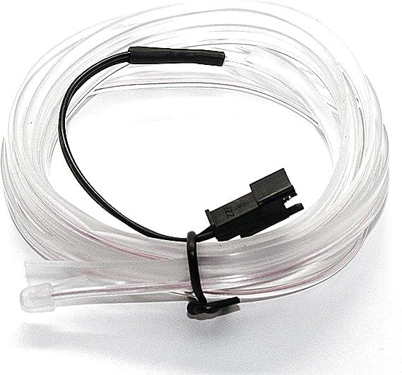LED-Mafia EL Lichtleiste Ambientebeleuchtung Leuchtschnur Kabel gr/ün - 6,75/€//m 2m