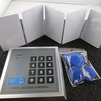 RFID Zugangssystem Transponder Codeschloss Türöffner Zutrittskontrolle System