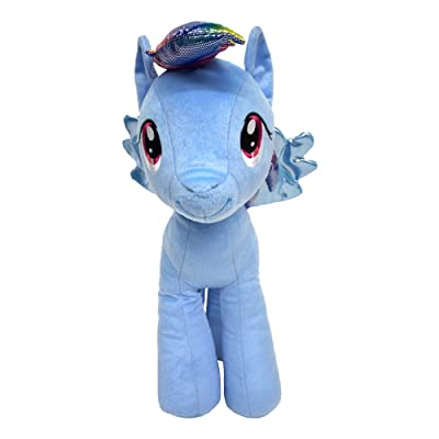 Hasbro Little Pony Rainbow Dash Cuddle Pillow, Large, Blue: Home & Kitchen