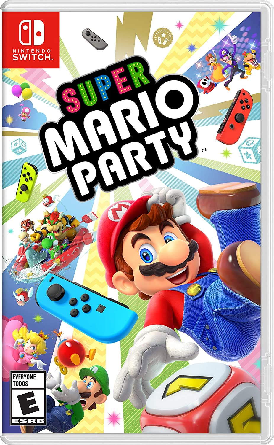 Super Mario Party Nintendo Switch Of America Transfer Switches Come In One Three Styles Standard Video Games
