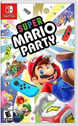 amazon super mario party 輸入版 北米 switch ゲームソフト