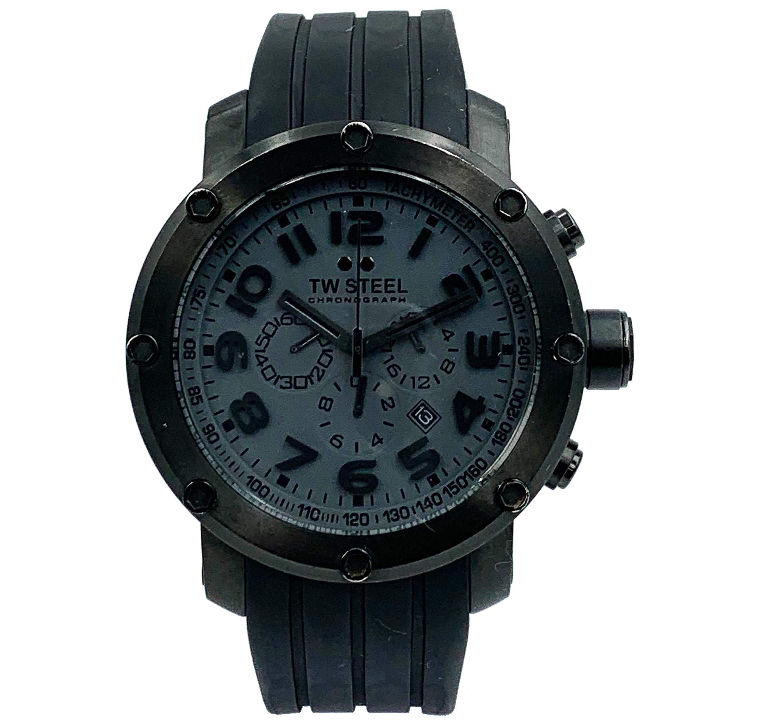 TW Steel Tech Cool Quartz Male Watch TW129 (Certified Pre-Owned) by TW Steel
