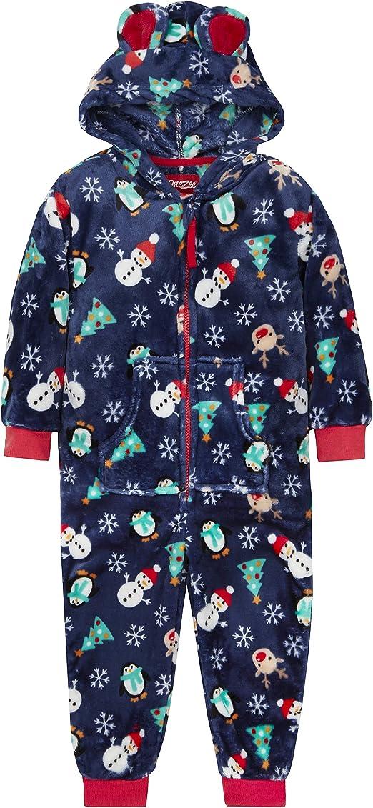 bnwt girls doc mcstuffins all in one fleece nightwear sleepsuit 2,3,4,5,6,7,8 yr