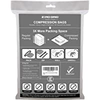 10-Pack Zero Grid Travel Compression Bags