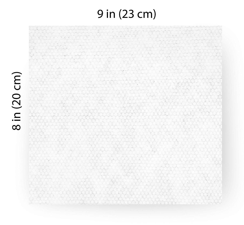 Pogis Grooming Wipes Paquete de Viaje - 120 toallitas desodorantes para Perros - No perfumadas, Naturales, Extra Grandes, Biodegradable: Amazon.es: ...