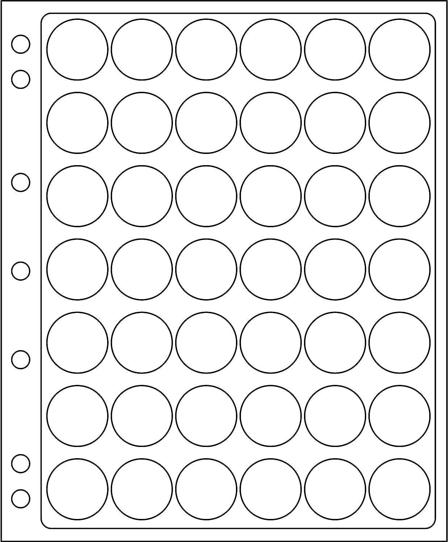 hojas ENCAP, transparentes para 42 placas de cava y chapas d cerveza