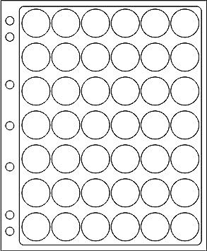 hojas ENCAP, transparentes para 42 placas de cava y chapas d cerveza: Amazon.es: Juguetes y juegos