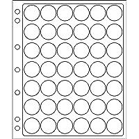 Leuchtturm 308075 Hojas ENCAP, Transparentes para 42 Placas