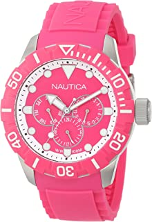 Nautica Unisex N13641G NSR 101 Multi- South Beach Classic Analog with Enamel Bezel Watch