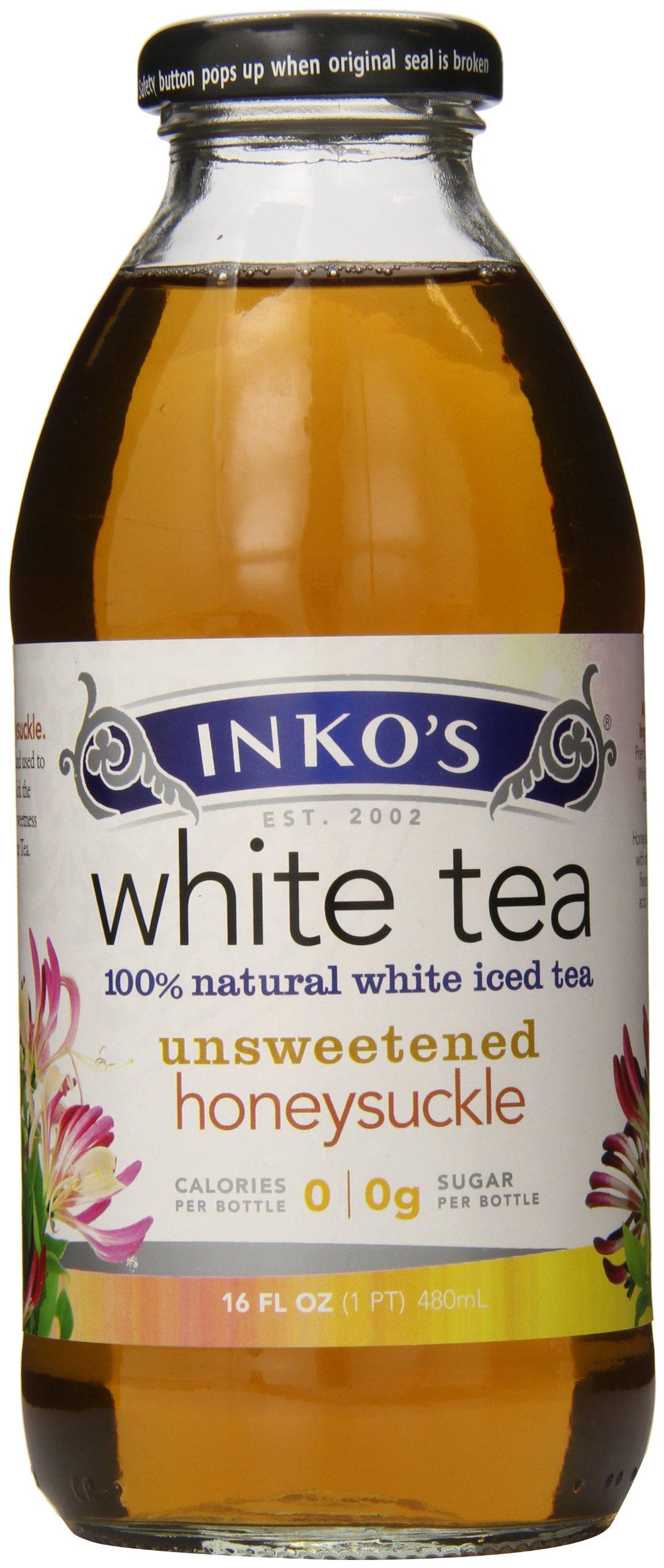 Inkos White Tea, Honeysuckle, 16 Ounce