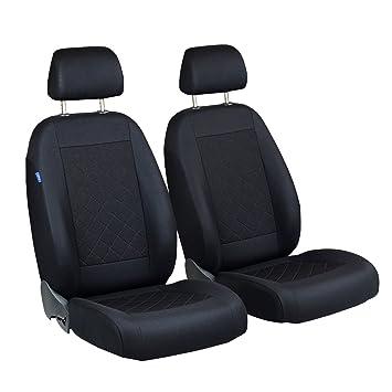Sitzbezüge grau vorne ELE SUZUKI SX4