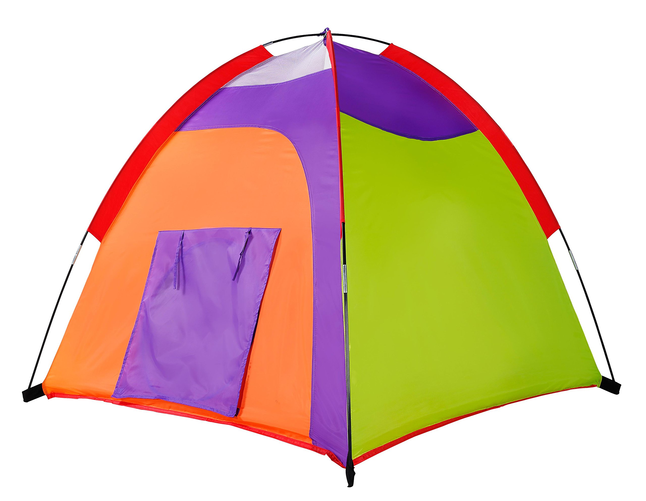 pop up kids tent kids tent colourful curvy play tent pop up tent play tents indoor outdoor. Black Bedroom Furniture Sets. Home Design Ideas