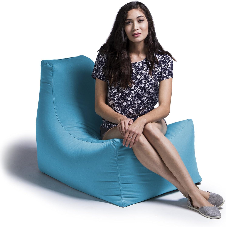 Jaxx Juniper Outdoor Bean Bag Patio Chair, Light Blue