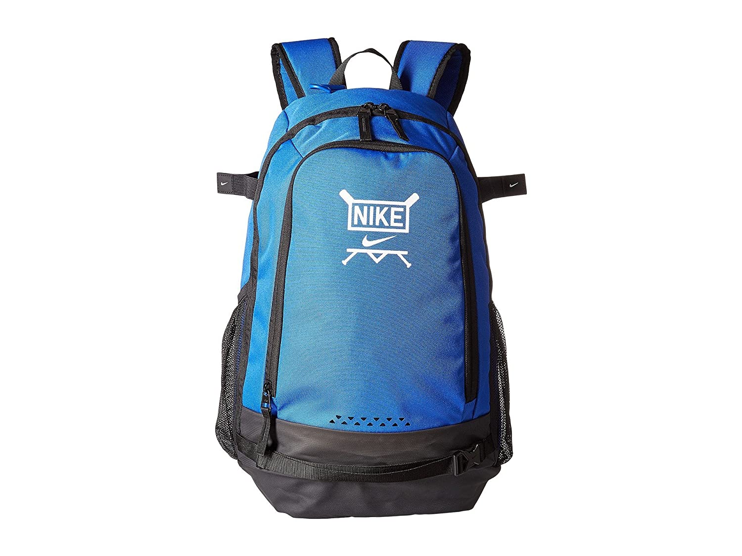 [NIKE(ナイキ)] リュックバックパック Vapor Clutch Bat Baseball Backpack [並行輸入品] B07L6VNRXW Game Royal/Black/White One Size