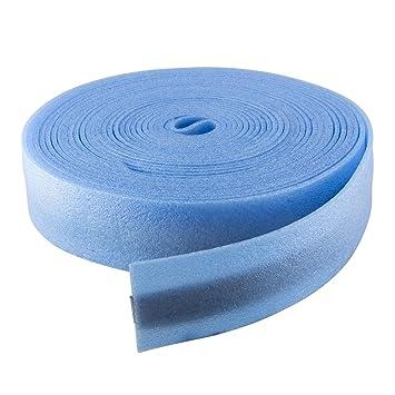 Randd/ämmstreifen 25 m blau 100 mm