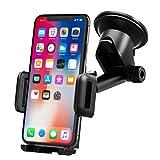 Mpow Support Téléphone Voiture, Rotation à 360° Fixé Stablement sur le Tableau de Bord avec la Longueur Désirée et l'Angle du Bras Télescopique pour iPhone, Nokia, Wiko, Huawei, Xiaomi, HTC, Sony,etc