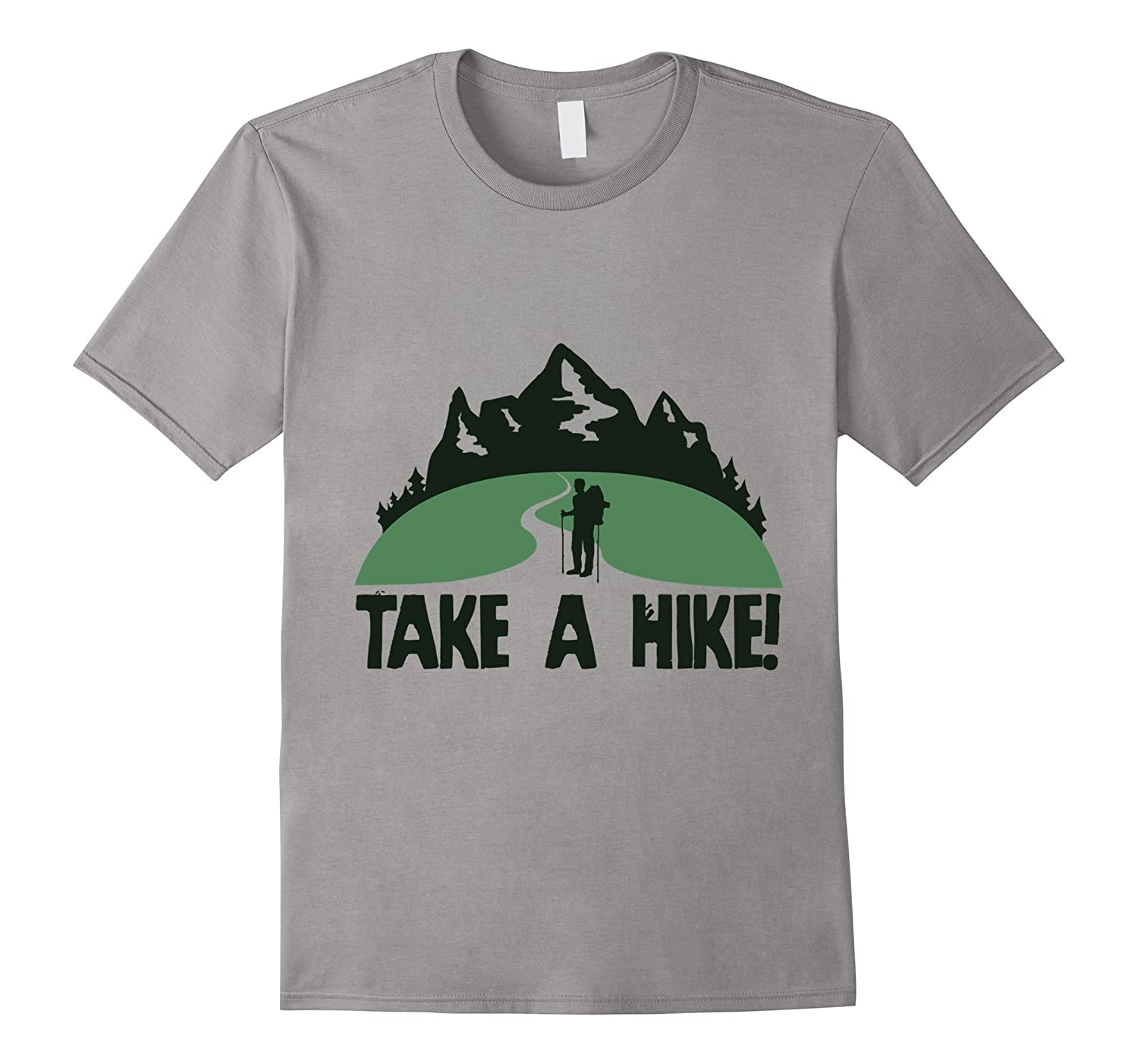 Tim Watson Outdoors: Logo Take a Hike (S) T- shirt-FL