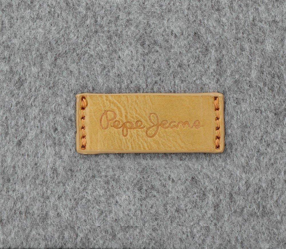Pepe Jeans Ripple Bolso Bandolera, 24 cm, 4.54 litros, Gris
