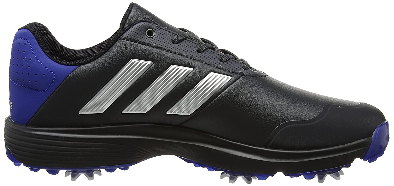 adidas Adipower Bounce WD Golf Schuhe Grau (Carbon/silver Metallic/collegate Royal)