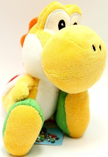 """Super Mario Plush - Yoshi Island - 5.5"""" - Yellow"""