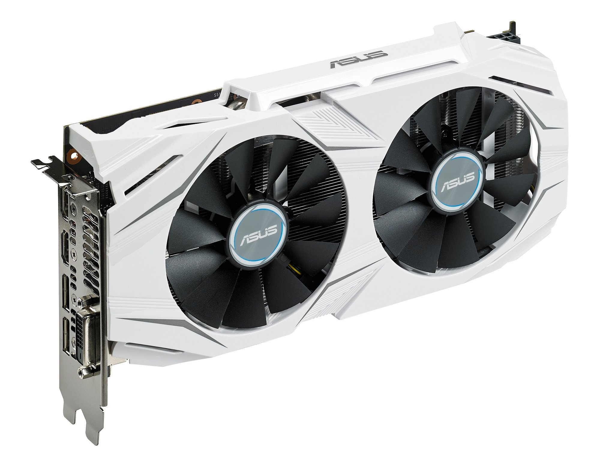 ASUS GeForce GTX 1060 6GB Dual-fan OC Edition VR Ready Dual HDMI DP 1.4 Gaming Graphics Card (DUAL-GTX1060-O6G) by Asus (Image #4)