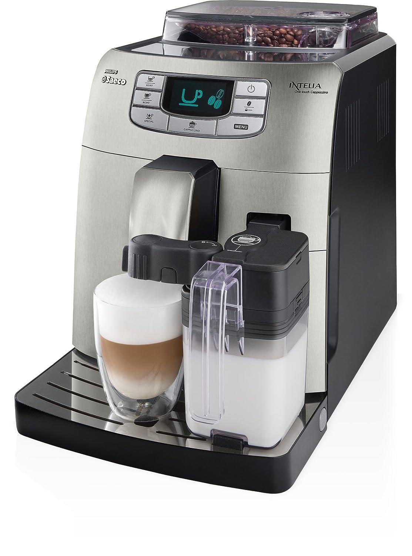 Saeco Intelia HD8753/89 - Cafetera (Máquina espresso, 1,5 L ...