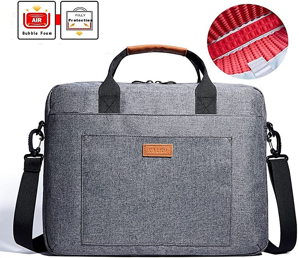 KALIDI Laptop Bag, Notebook Briefcase Messenger Shoulder Bag for Dell Alienware/MacBook/Lenovo/HP, Travelling, Business