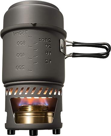 Amazon.com: Esbit CS985HA - Juego de cocina para trekking (5 ...