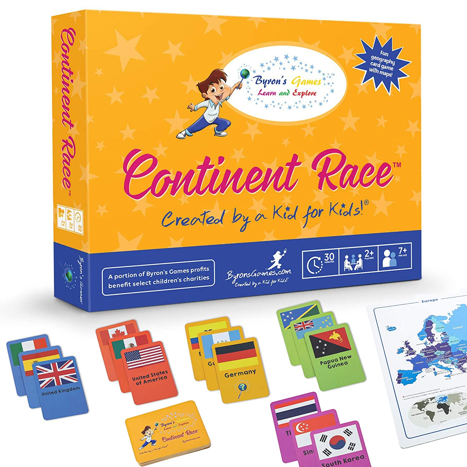 Continent Race from Byrons Games