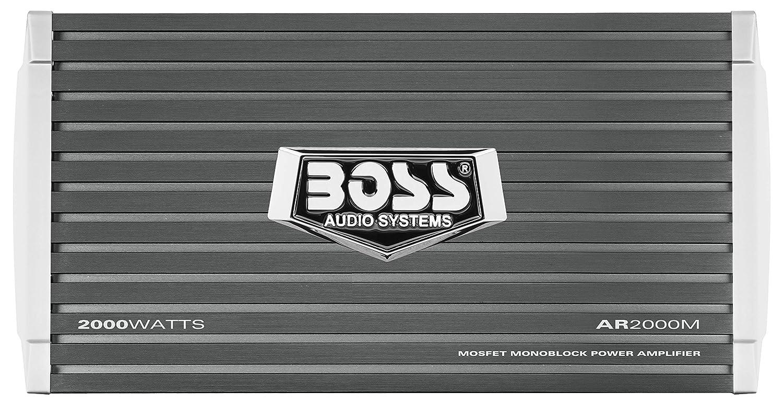 Boss audio 2000/W armatura Monoblock Class A//B 1/Channel stabile amplificatore con comando subwoofer