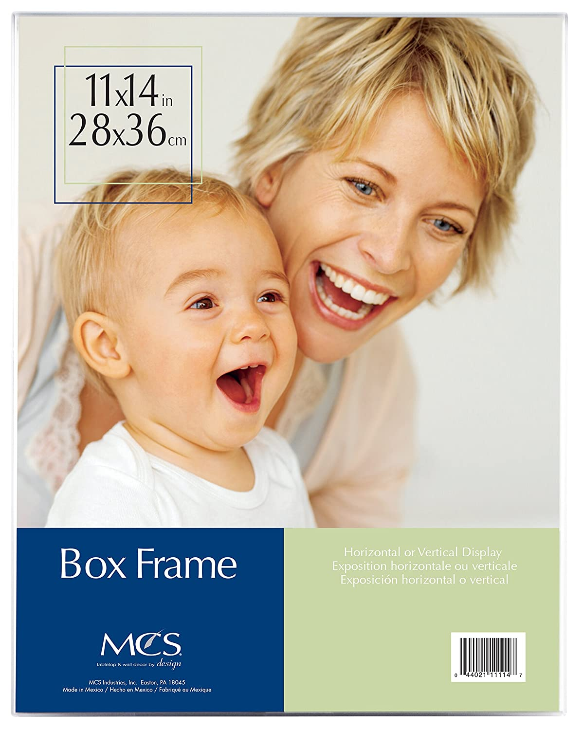 Amazoncom Mcs 11x14 Inch Clear Box Frame 11114 Picture Frame Sets