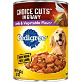 PEDIGREE CHOICE CUTS IN GRAVY Adult Canned Wet Dog Food, 13.2oz & 22 oz. Cans